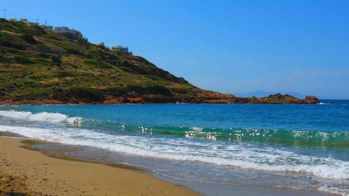 Greece, Greek islands, Cyclades, Siros, Syros, Kini, Kini Syros, Lotos, Lotos beach, Lotos beach Syros, beach, sandy beach,