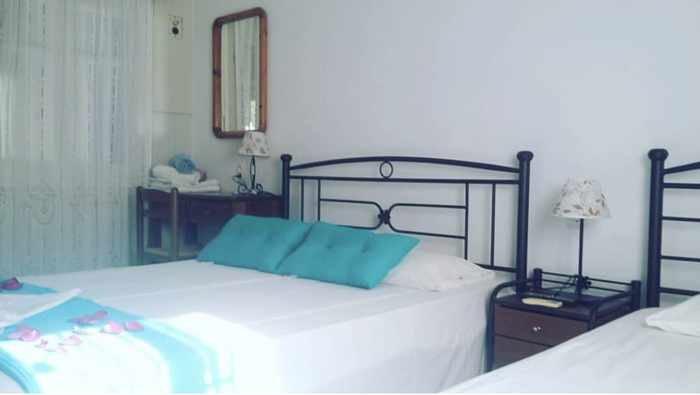 Greece, Greek islands, Cyclades, Siros, Syros, Syros island, Kini Bay, Kini, Kini Bay on Syros, accommodations, Markos Rooms, Markos Rooms Kini Bay Syros, hotel room,