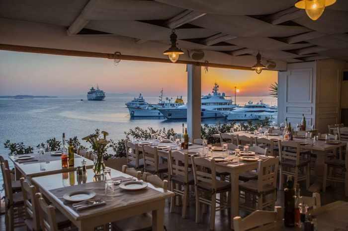 Greece, Greek Islands, Cyclades, Mikonos, Mykonos, Mykonos Town, restaurant, taverna, estiatorio, Roca Cookery, Roca Veranda, Roca Cookery Mykonos,