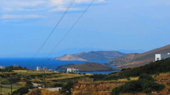 Greece, Greek islands, Cyclades, Siros, Syros,Syros island, trail, footpath, path, walking route, hiking trail, hiking, landscape, coast, sea,