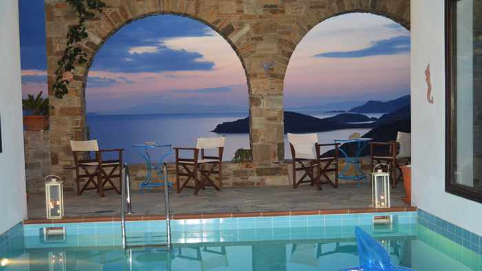 Greece, Greek islands, Cyclades, Siros, Syros, Syros island, Kini Bay, Kini, Kini Bay on Syros, accommodations, Syrou Lotos Apartments and Studios, Lotos Apartments Syros, Lotos Apartments Kini Bay Syros,