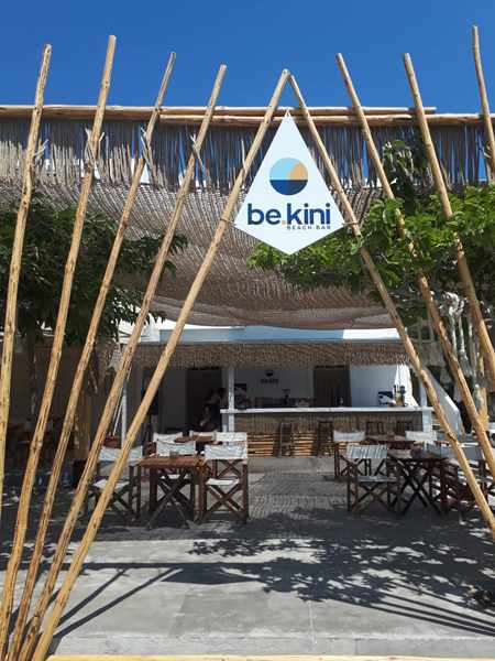 be kini beach bar photo from the Sunset Hotel page on Facebook