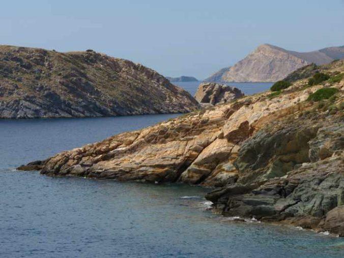 Greece, Greek islands, Cyclades, Siros, Syros,Syros island, trail, footpath, path, walking route, hiking trail, hiking, coast,