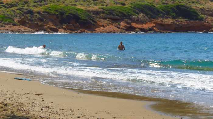 Greece, Greek islands, Cyclades, Siros, Syros, Kini, Kini Syros, Lotos, Lotos beach, Lotos beach Syros, beach, sandy beach,