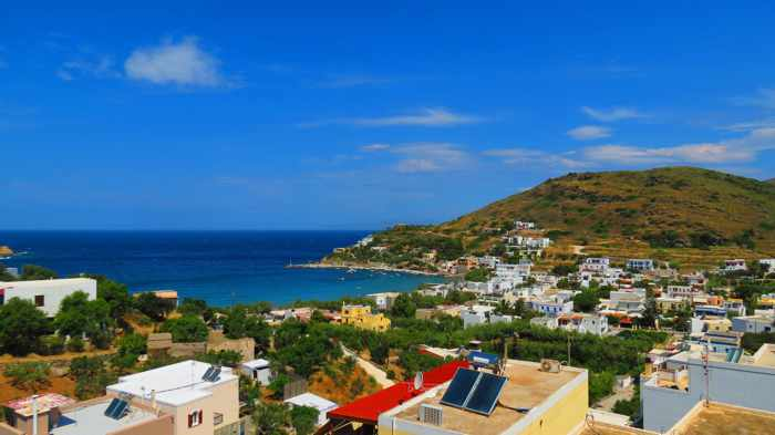 Greece, Greek islands, Cyclades, Siros, Syros, Syros island, Kini Bay, Kini, Kini Bay on Syros, Kini Bay Rooms & Apartments, accommodations, view, hotel view