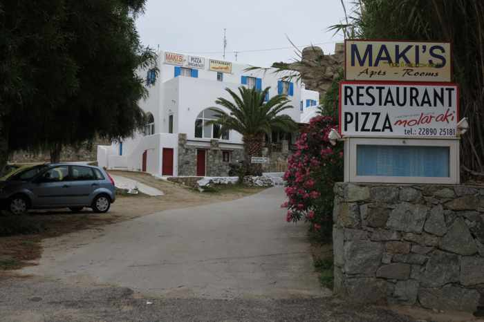 Greece, Greek islands, Cyclades, Mikonos, Mykonos, Tourlos, Mykonos New Port, Makis Place, Makis Place Hotel Mykonos, Molaraki restaurant Mykonos, hotel, restaurant