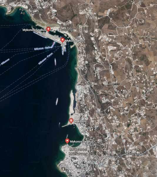 Greece, Greek island, Cyclades, Mikonos, Mykonos,Mykonos ports, Mykonos ferry ports, ferry, ferry travel, ferry travel to Mykonos,