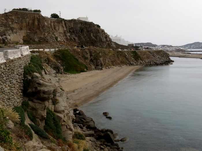 Greece, Greek islands, Cyclades, Mikonos, Mykonos, beach, coast, seaside, shore,