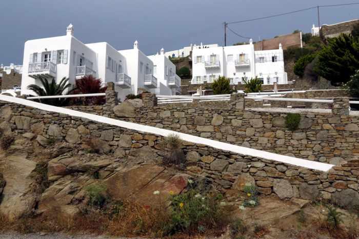 Greece, Greek islands, Cyclades, Mikonos, Mykonos, Mykonos Town, Apanema hotel Mykonos, Apanema Resort Mykonos, Mykonos hotel, building, architecture,