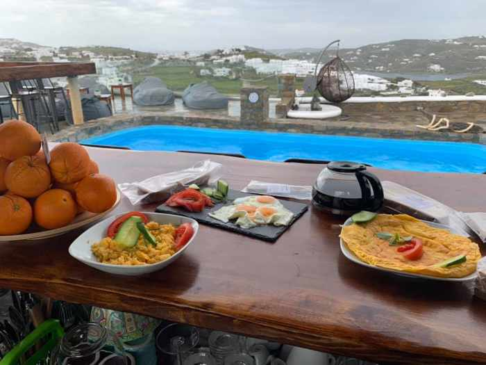 Facebook page photo of the breakfast available at Chill Out Lounge Cafe Bar