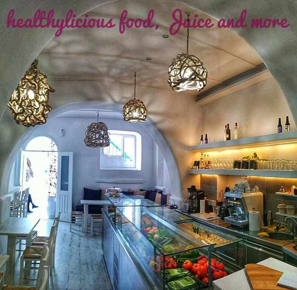 Healthylicious Mykonos photo from the restaurant page on Facebook