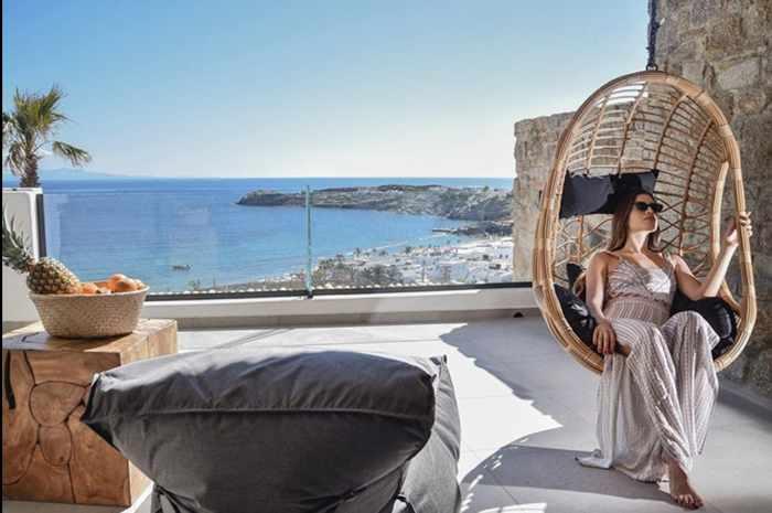 Tropicana Hotel Mykonos new superior suite terrace photo