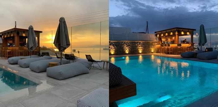 Apiro Mykonos photos from the hotel's social media feeds