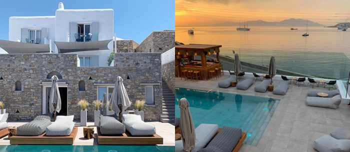 Apiro Hotel Mykonos social media photos of the hotel property and view