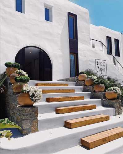 100%Capri boutique in Mykonos seen in a photo from its page on Facebook
