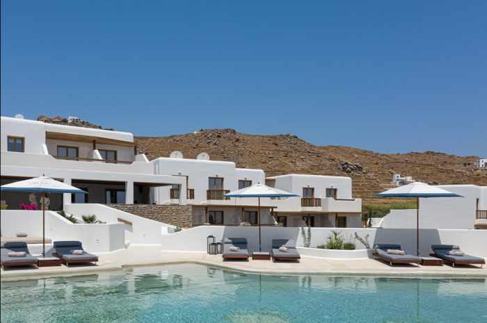 Aegon Mykonos hotel pool photo