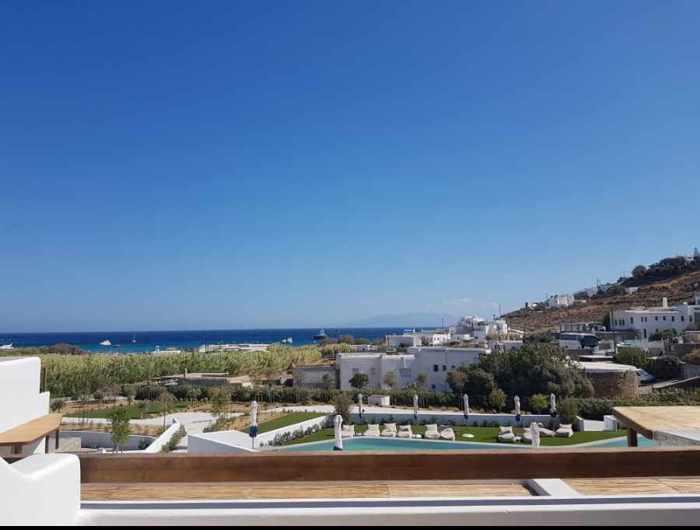 Aegon Mykonos seaview photo shared on TripAdvisor by reviewer LukeJang