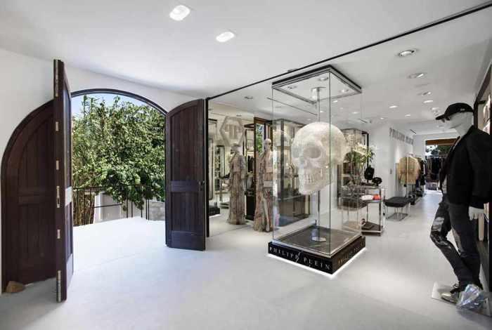 Nammos Village shopping center Mykonos photo of the Philipp Plein boutique