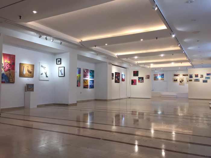 Summer Lovers exhibition at Venus Art Gallery Mykonos in August 2019 photo 02