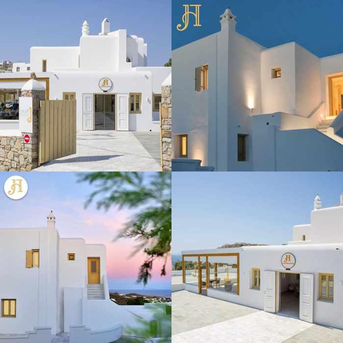 Social media photos of Jenny's Summer Houses on Mykonos