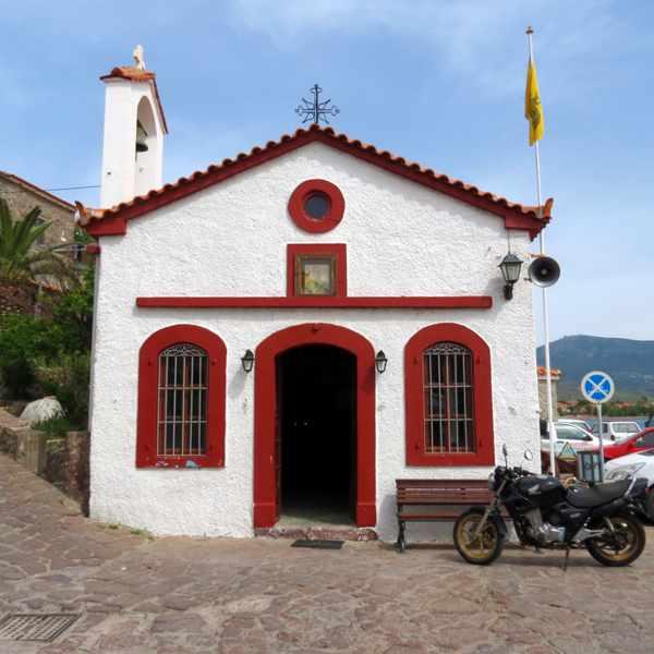 Agios Nikolaos church in Molyvos