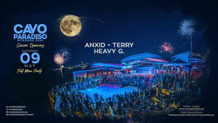 Cavo Paradiso Mykonos 2020 season opening party announcement