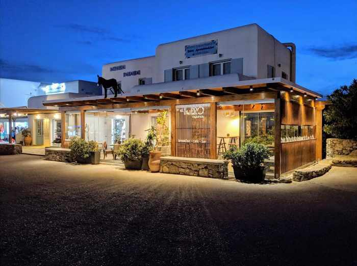 El Burro Mykonos exterior photo from the restaurant page on Facebook