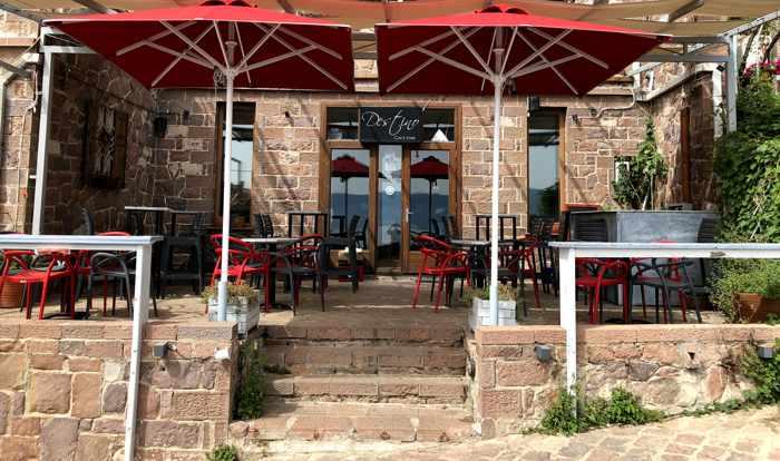 Destino Cafe Bar in Molyvos on Lesvos island