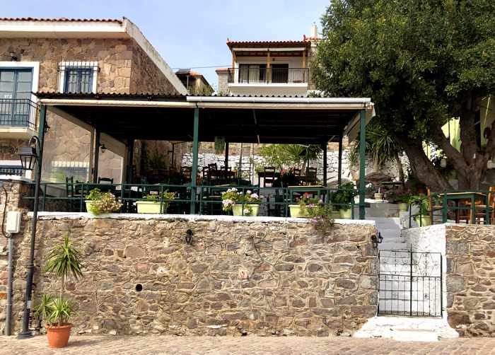 Deilino Restaurant in Molyvos on Lesvos