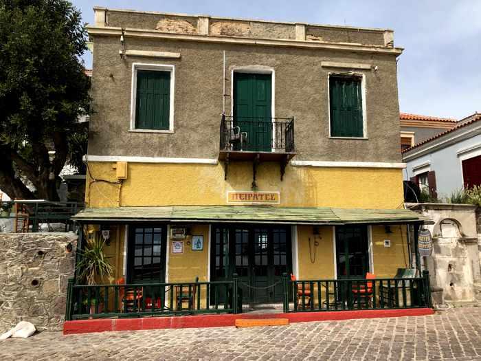 Pirates Bar in Molyvos on Lesvos