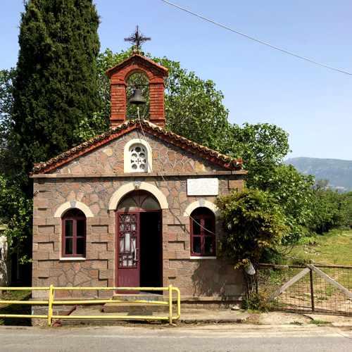 Agiou Ignatiou chapel at Molyvos on Lesvos island