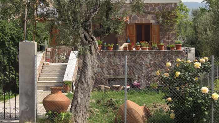a house at Molyvos town on Lesvos