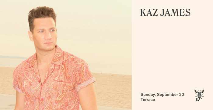 Scorpios Mykonos 2020 season closing event with Kaz James