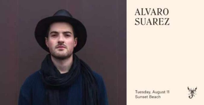 Scorpios Mykonos presents Mom and Alvaro Suarez on Tuesday August 11