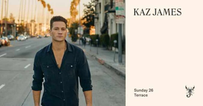 Scorpios Mykonos presents Sunset Ritual with Kaz James on Sunday July 26