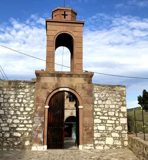 Agia Kiriaki Church in Molyvos Lesvos