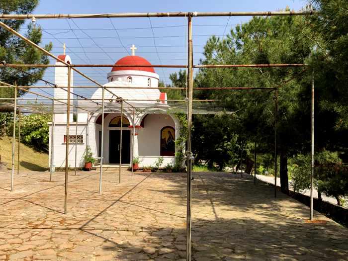 Agios Theoktisti Church in Molyvos Lesvos