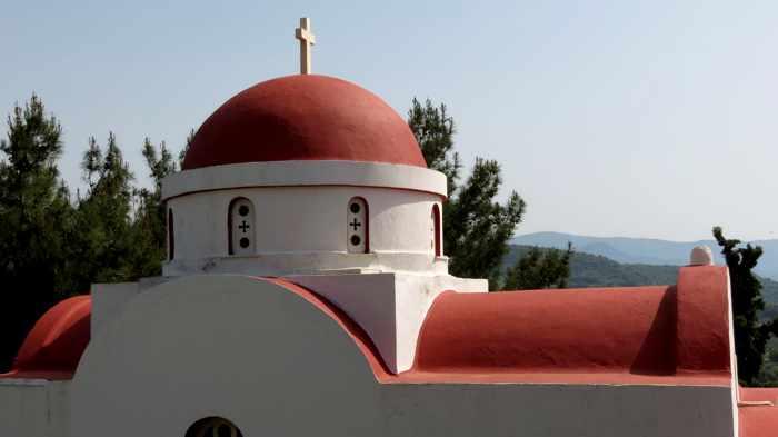 Agios Theoktisti Church in Molyvos