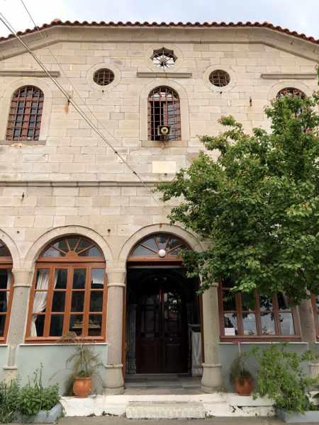 Church of Agios Panteleimonas in Molyvos town on Lesvos island