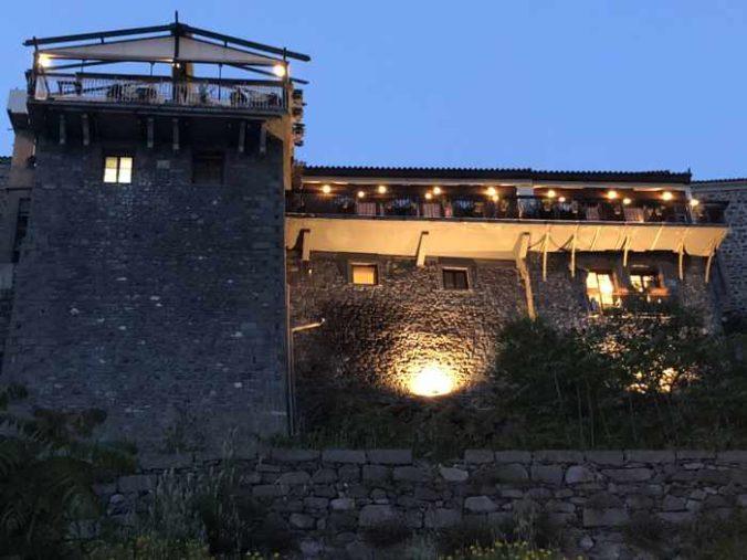 Molyvos Stars restaurant in Molyvos on Lesvos island