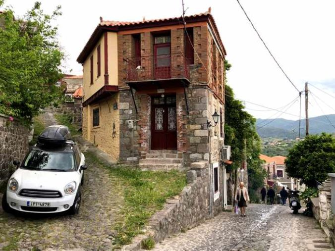 a house in Molyvos on Lesvos island
