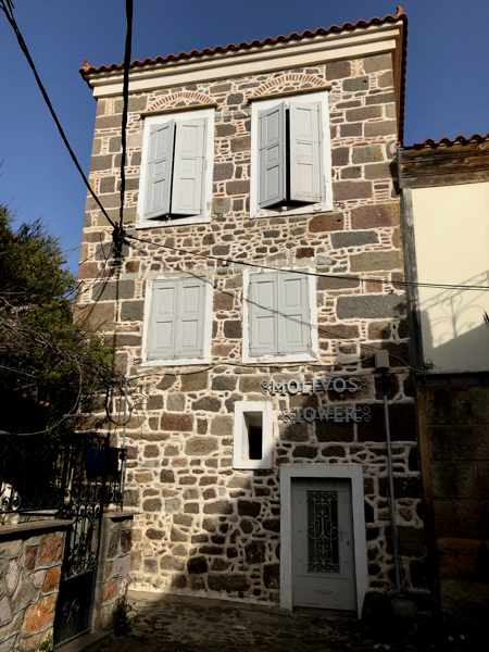 Molivos Tower villa in Molyvos town on Lesvos island