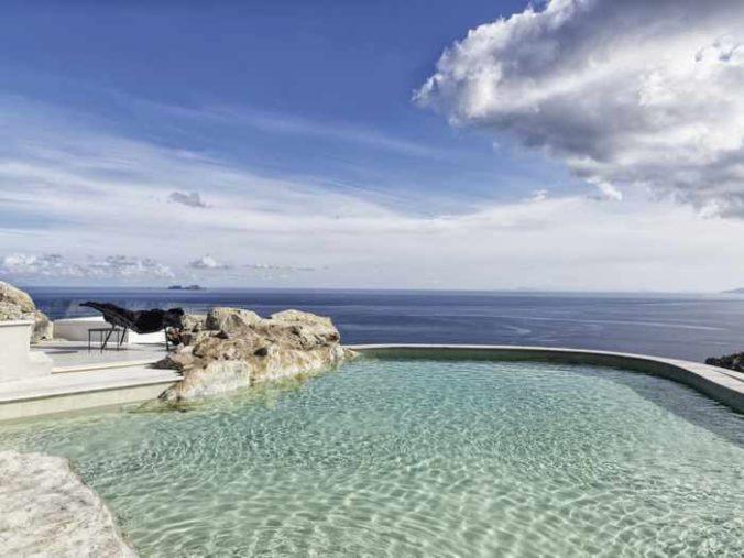 Panoptis Escape Mykonos 2 bedroom villa swimming pool