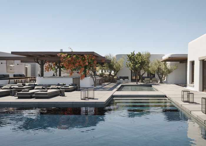 Kalesma Mykonos hotel & villa swimming pool