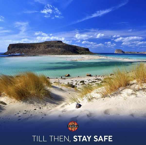 Balos beach on Crete