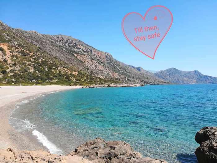 Gialiskari Beach on Crete