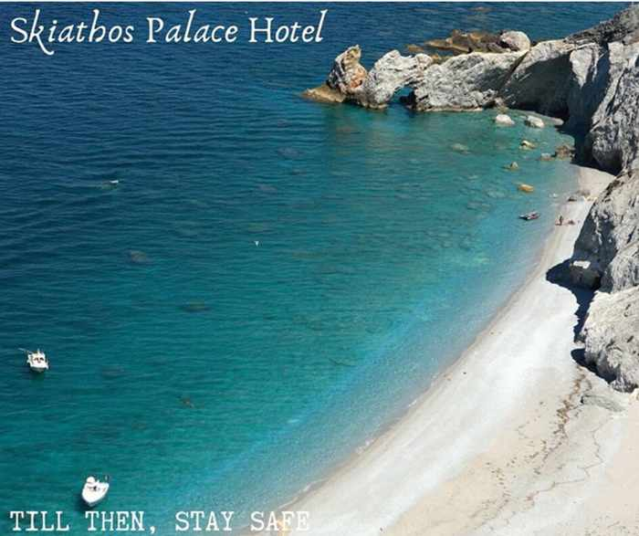 Lalaria Beach Skiathos photo by Skiathos Palace Hotel