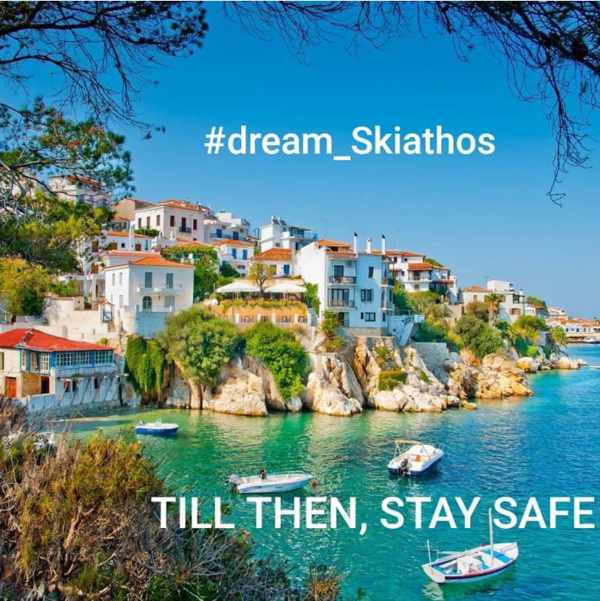 Skiathos Town image shared on Instagram by Atlast Hotel in Skiathos