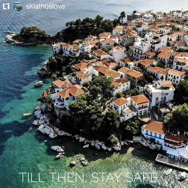 Skiathos Town Instagram photo by angusfanshawe