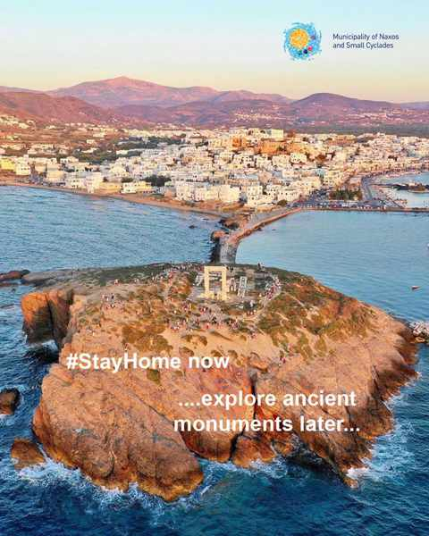 Stay Safe Facebook post by Naxos Island & Small Cyclades page on Facebook